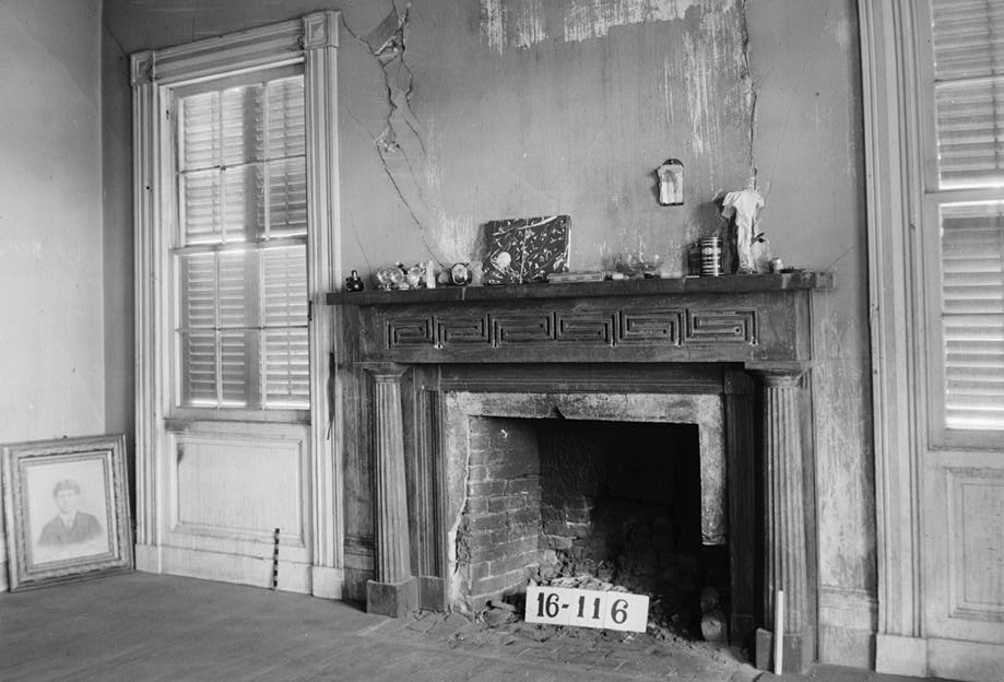 Atkinson-Till House, State Highway 59, Tensaw, Baldwin County, AL by photographer W. N. Manning 19393