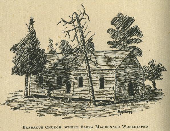 Babacue church flora macdonald