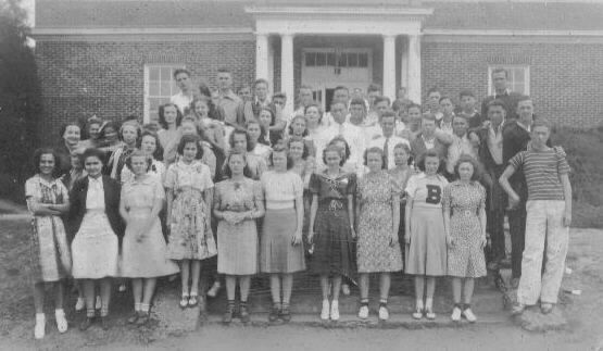 Butler County High School junior class 1938-1939 Greenville, Alabama