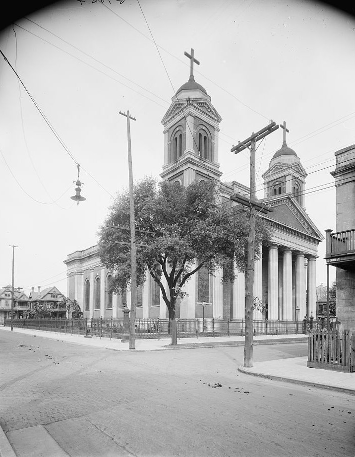 Catholic Cathedral of the Immaculate Conception, Mobile, Alabama - ca. 1900 - Detroit Publishing
