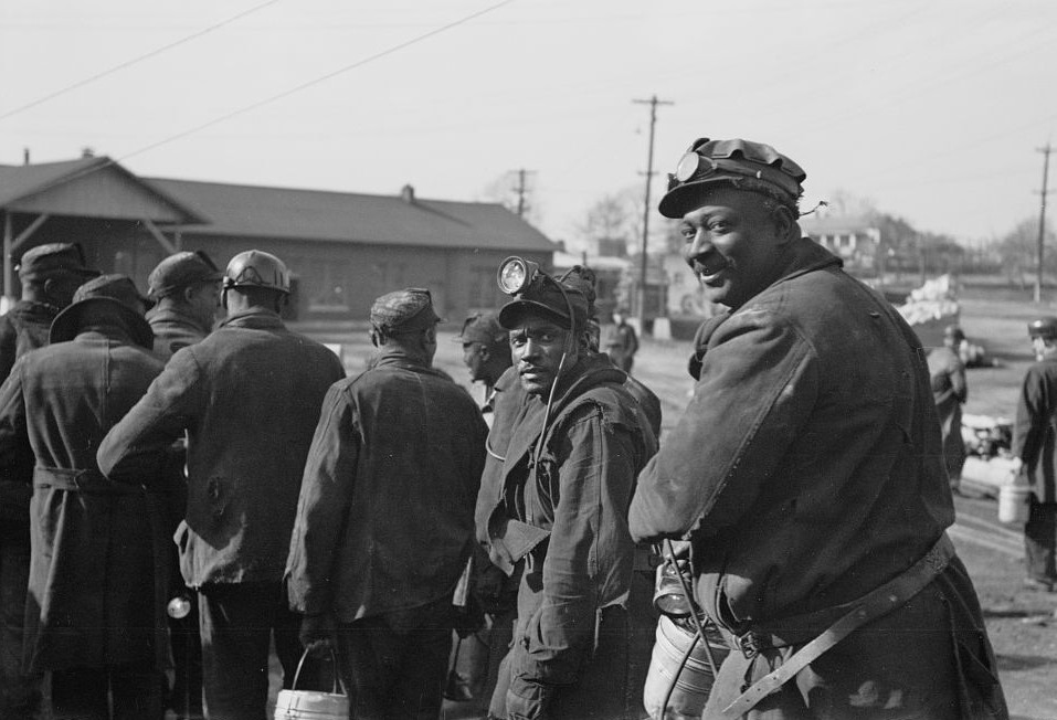 Coal miners, Birmingham, Alabama 1937 Rothstein