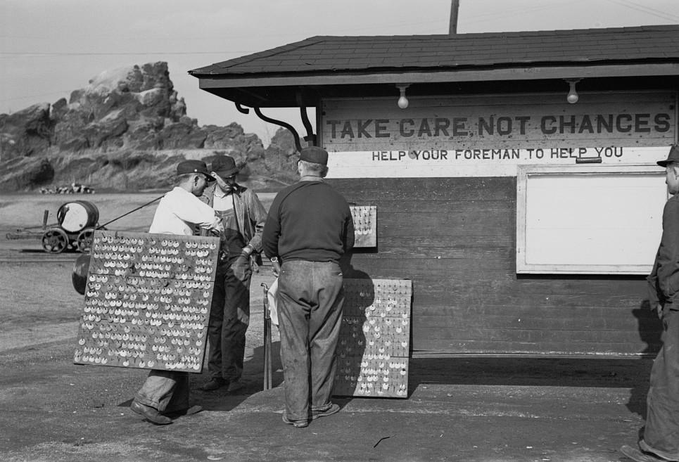 Coal miners, Birmingham, Alabama11 1937 Rothstein