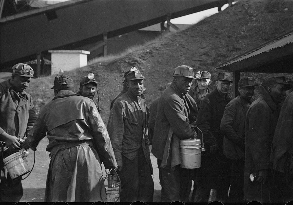 Coal miners, Birmingham, Alabama12 1937 Rothstein