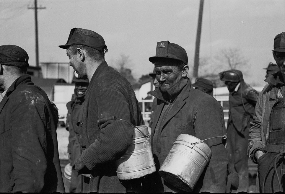 Coal miners, Birmingham, Alabama13 1937 Rothstein