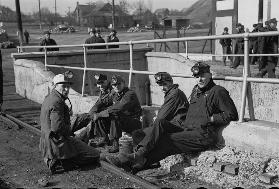 Coal miners, Birmingham, Alabama14 1937 Rothstein