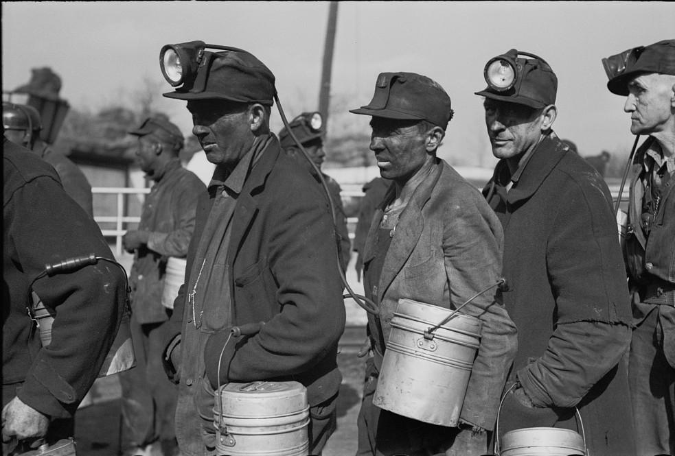 Coal miners, Birmingham, Alabama16 1937 Rothstein