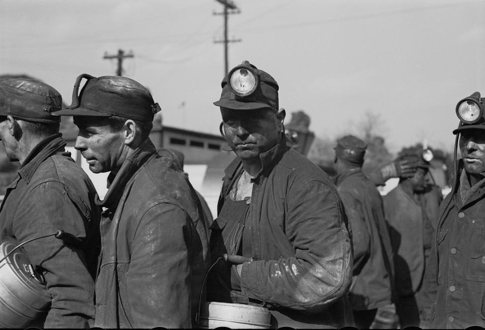 Coal miners, Birmingham, Alabama18 1937 Rothstein
