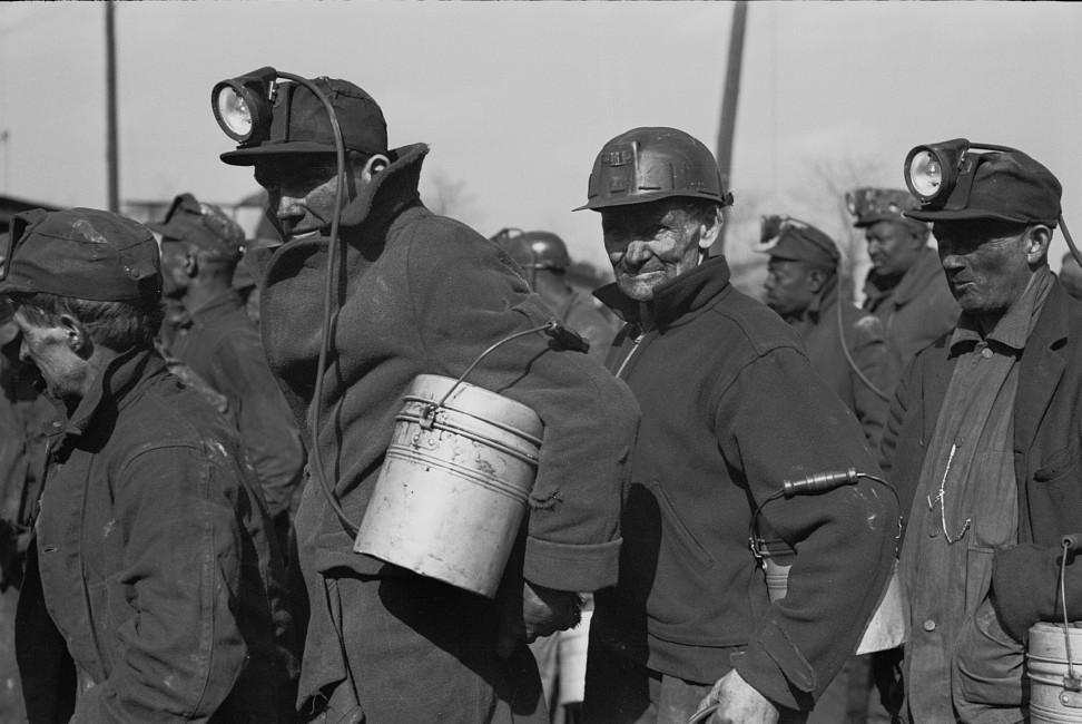 Coal miners, Birmingham, Alabama2 1937 Rothstein