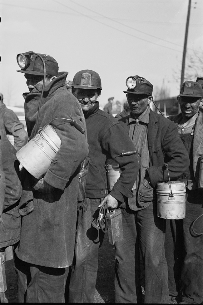 Coal miners, Birmingham, Alabama20 1937 Rothstein