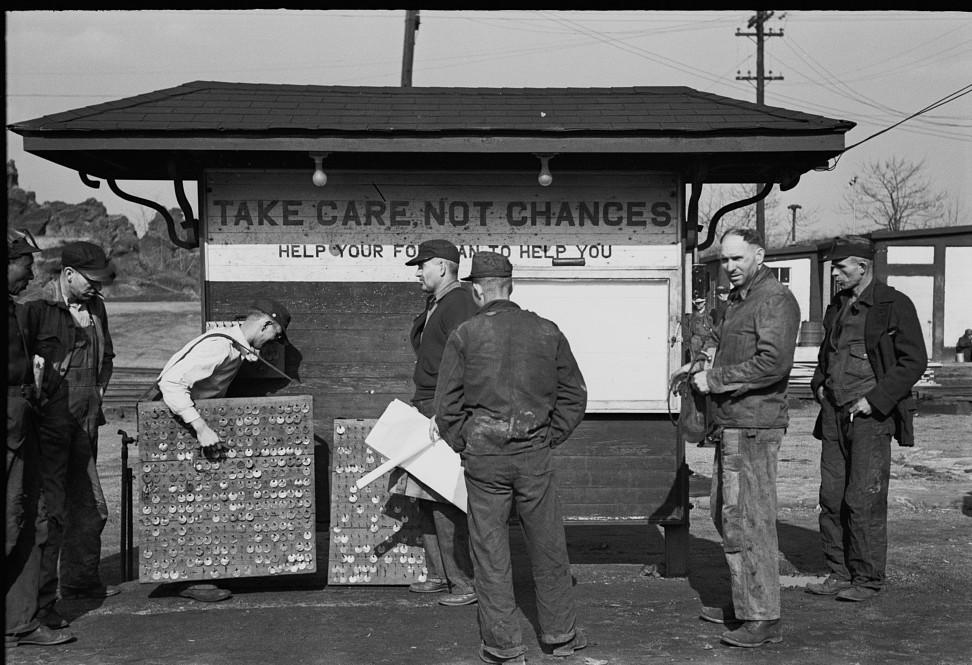 Coal miners, Birmingham, Alabama21 1937 Rothstein