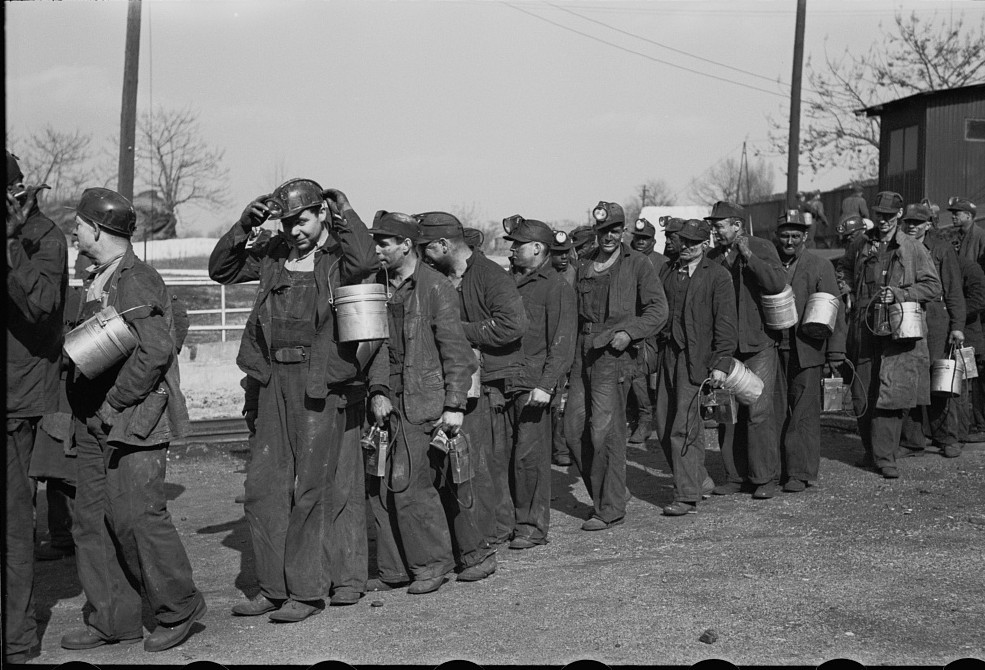 Coal miners, Birmingham, Alabama23 1937 Rothstein