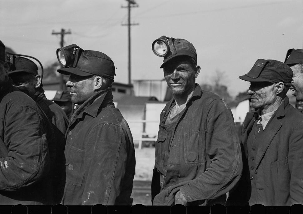 Coal miners, Birmingham, Alabama3 1937 Rothstein