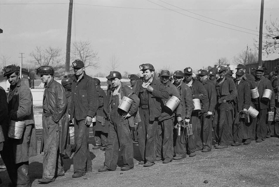 Coal miners, Birmingham, Alabama7 Rothsten 1937