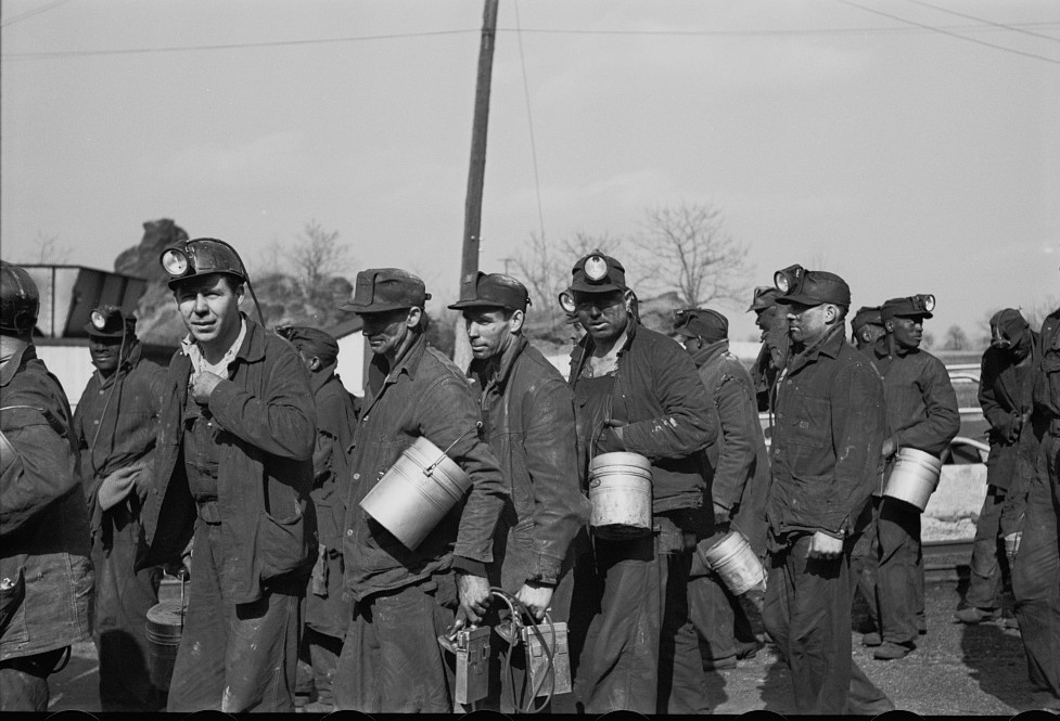 Coal miners, Birmingham, Alabama8 Rothsten 1937