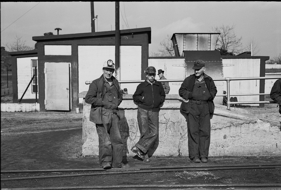 Coal miners, Birmingham, Alabama9 1937 Rothstein