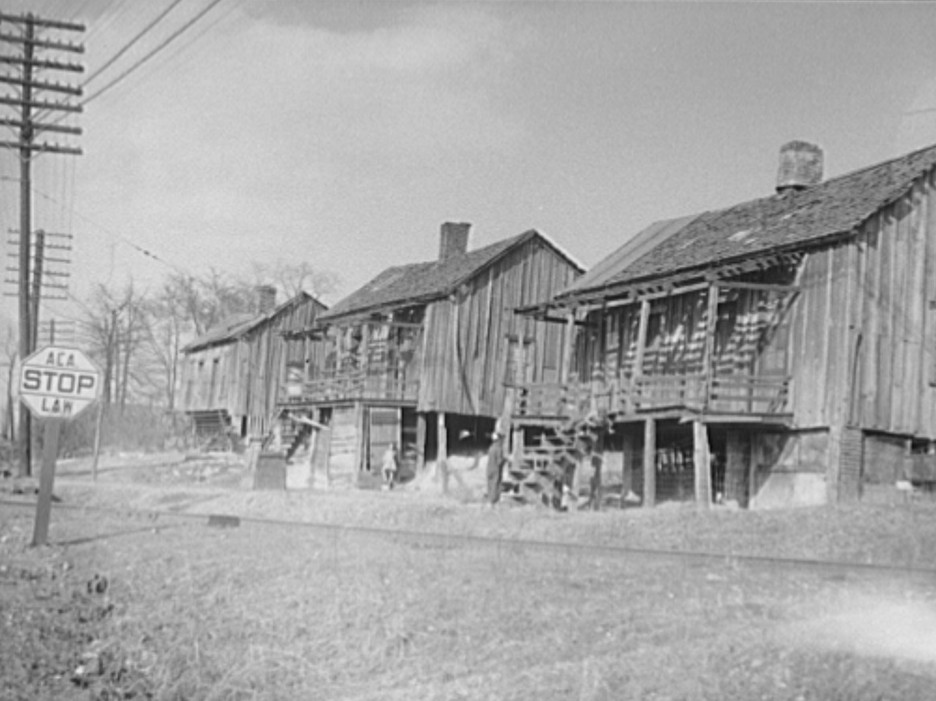 Coal miners' homes. Birmingham, Alabama2 Rothstein 1937