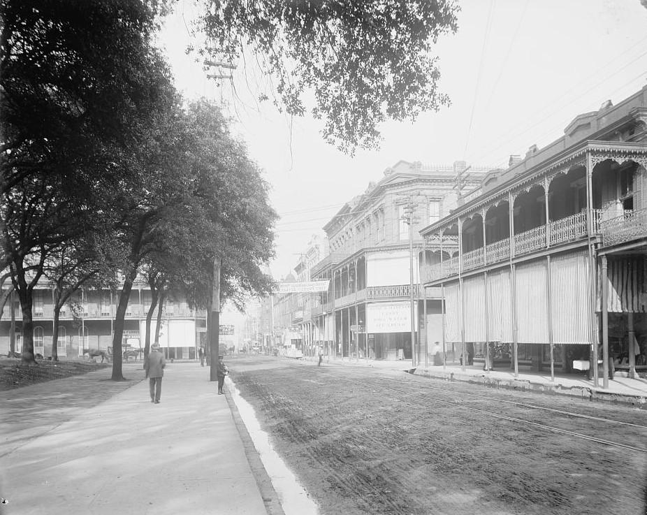 Dauphin St., Mobile, Ala ca. 1900 - Detroit Publishing Company