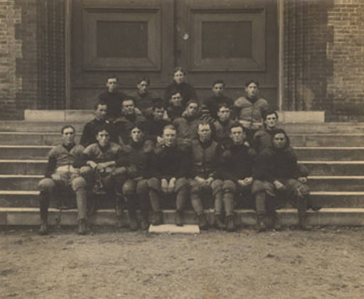 Football team at the University of Alabama in Tuscaloosa. July 30, 1901