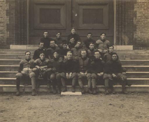 Football team at the University of Alabama in Tuscaloosa. July 30, 1901