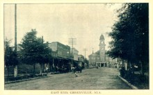 PATRON – Legal notices & robbery in news of 1867 Greenville, Alabama