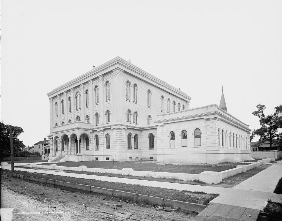 Medical College of Alabama, Mobile, Alabama - ca. 1909- Detroit Publishing Company
