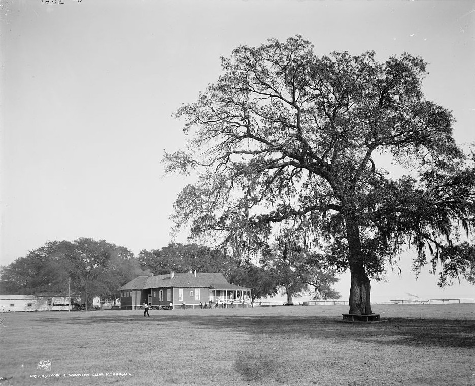 Mobile Country Club, Mobile, Alabama - ca. 1909- Detroit Publishing Company