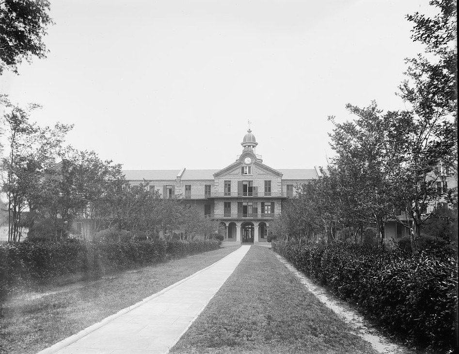 Spring Hill College - Mobile, Alabama - ca. 1900 - Detroit Publishing Company