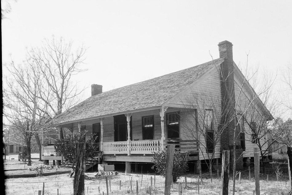 W. N. Manning, Photographer, March 6, 1934. - Tunstall House, State Highway 59, Tensaw, Baldwin County, AL