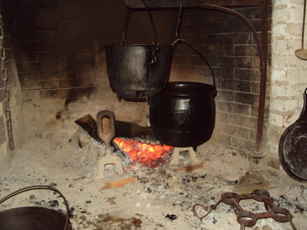 cornbread over old fire
