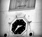 Meet Under the Clock – that was a common meeting place in Birmingham, Alabama