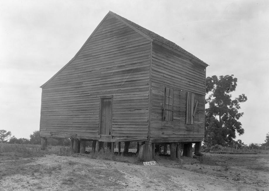 old Will Crenshaw house = Greenville, AL Jun 12, 1935 w. n. manning