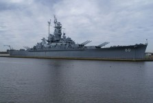 Here is the actual 1942 [film footage] of the USS Alabama battleship which is now a museum ship in Mobile, Alabama