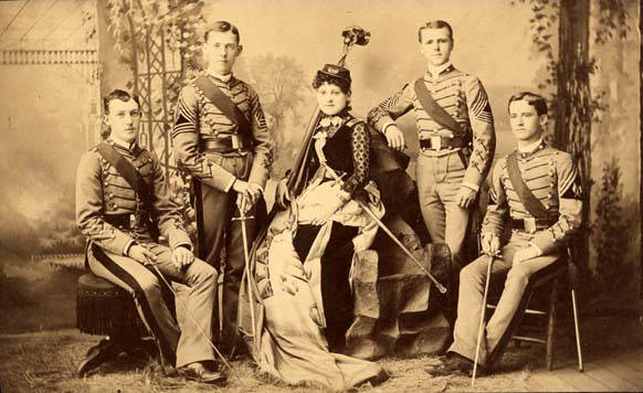 The Bottle Corps at the University of Alabama of 1886 - what a unique band!