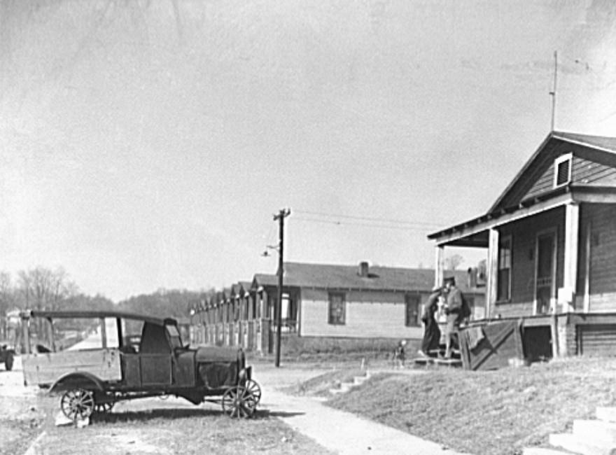 Coal miners' homes. Birmingham, Alabama26 Rothstein 1937
