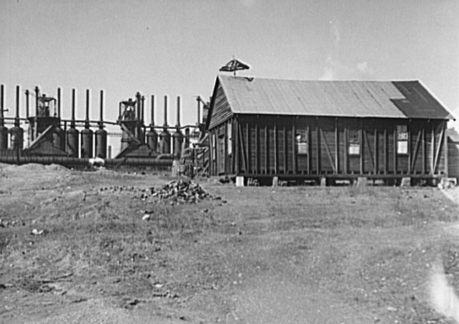 Coal miners' homes. Birmingham, Alabama27 Rothstein 1937