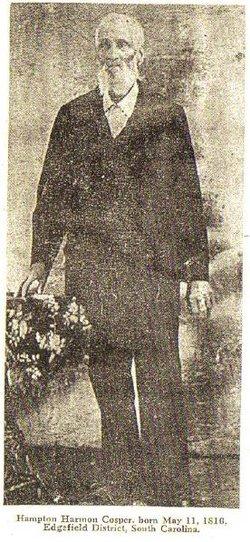 HAMPTON HARMON COSPER 1818- 1903)