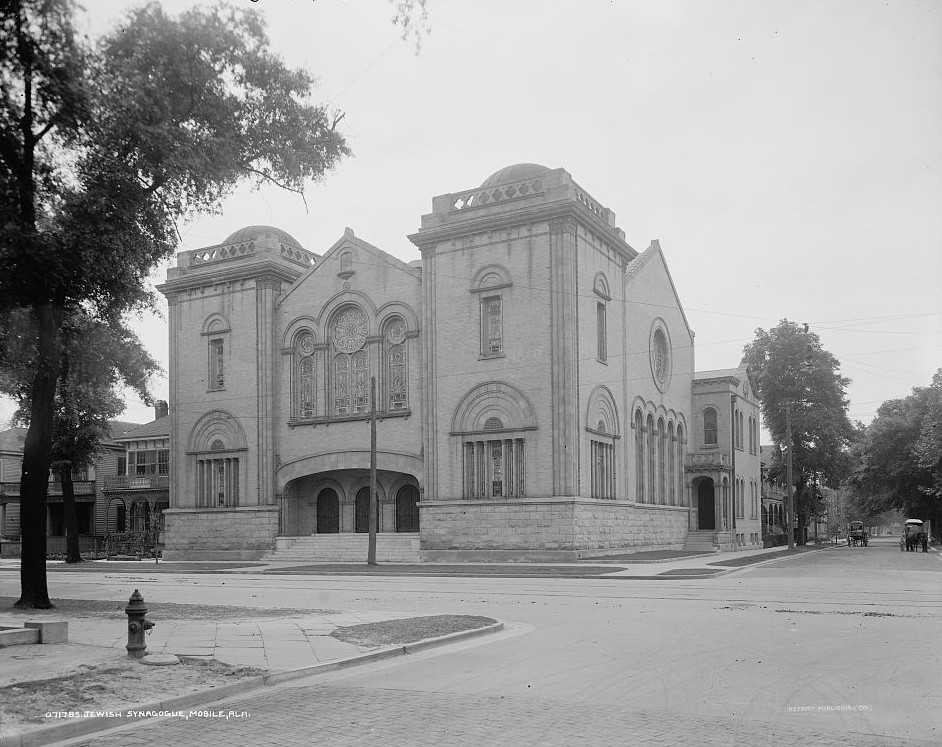 Jewish synagogue, Mobile, Alabama between 1905 -1915 - Detroit Publishing Company