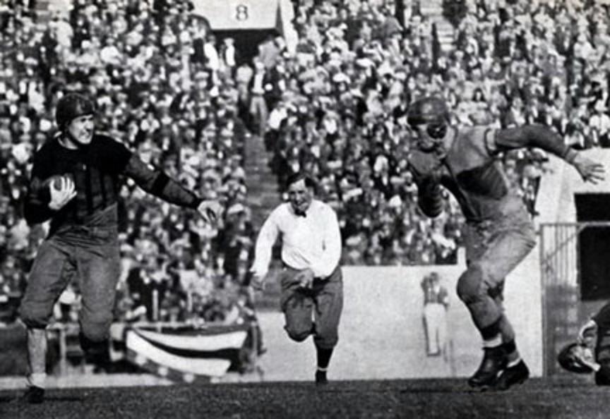 Johnny Mack Brown runs