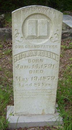 Solomon Robbins tombstone