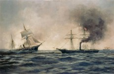CSS Alabama's last fight as told by Captain Kell in 1885