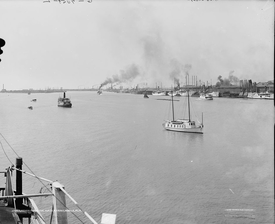Waterfront, Mobile, Alabama3 ca. 1900 -Detroit Publishing Company