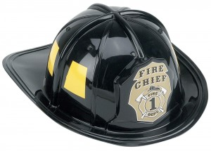 fire chief helment