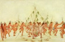 Green Corn dance – Indian Ball play in Wetumpka, Alabama