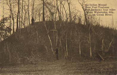 indian mound near fort toulouse