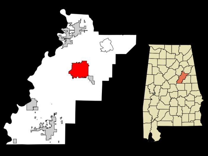 800px-Talladega_County_Alabama_Incorporated_and_Unincorporated_areas_Talladega_Highlighted
