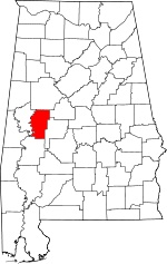 Alabama-map-showing-Hale-County