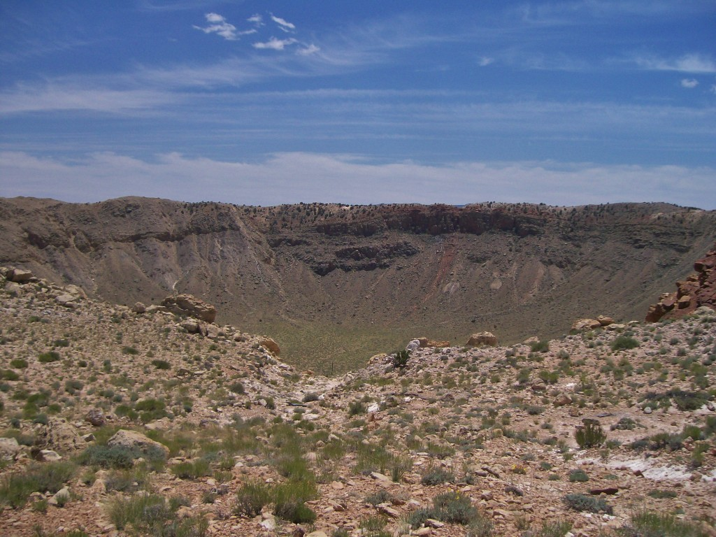 Barringer meteor crater Arizona