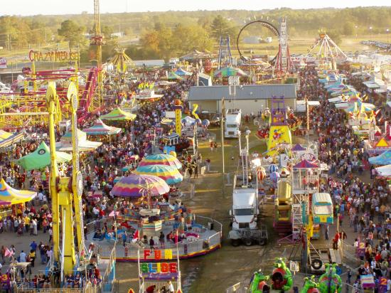November is usually the time for peanuts in Dothan - home of the National Peanut Festival since 1938