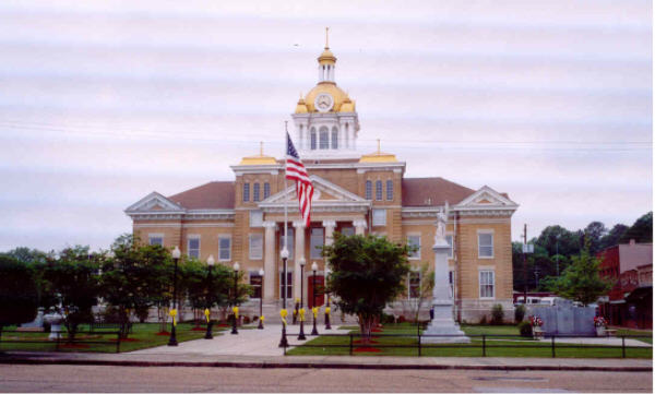 Fayette County Courthouse 2004 (Rootsweb - Ancestry.com)