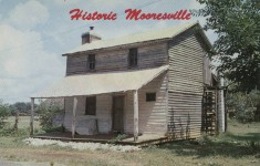 Early pictures and film of early stagecoach stops and post office in early North Alabama